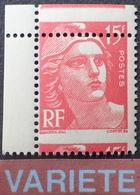 R766/4 - 1949 - TYPE MARIANNE De GANDON - N°813j NEUF** BdF - SUPERBE +++ VARIETE ➤➤➤ Piquage à Cheval - Variedades: 1945-49 Nuevos