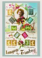 Entier Postal CP MonTimbraMoi - International - Langage Des Timbres - Timbre Identique à La Carte - Neuf** - Entiers Postaux