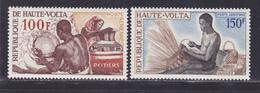HAUTE-VOLTA AERIENS N°   58 & 59 ** MNH Neufs Sans Charnière, TB (D9216) Artisanat, Potier, Vannier -1968 - Obervolta (1958-1984)
