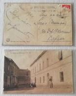 Cartolina Illustrata Nuoro-Caserma Principale R.R. CC. Per Sassari - 03/02/1943 - Storia Postale
