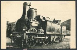 Locomotives Du PLM - Machine N° 531 - N° 581 Edit. H. M. P.- See 2 Scans - Treni