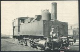 Locomotives Du Sud-Est (ex PLM) - Machine-Tender N° 3 AM 187 (Ex 7587) Type 030 - N° 1514 Edit. H. M. P.- See 2 Scans - Treni