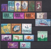 E232 – EGYPTE – EGYPT – 1966 – YEAR SET – MI # 814/844 USED - Gebruikt