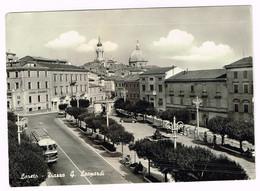 V4692 Loreto (Ancona) - Piazza Leopardi - Bus Autobus / Viaggiata 1959 - Altre Città