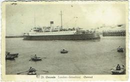 Ostende. Bateau. London-Istamboul. Ship. - Oostende