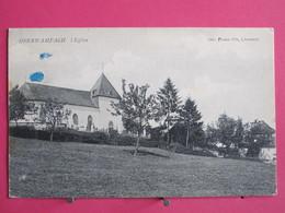Visuel Très Peu Courant - Luxembourg - Oberwampach - L'Eglise - 1918 - Recto Verso - Clervaux