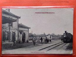 CPA (54) Noviant Aux Prés .Gare De Noviant-Lironville. Cachet Militaire.155ème. (N.906) - Francia