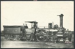 Locomotives De L'Orléans N° 494 - Machine N° 13 (type 111) - Edit. H. M. P. - Voir 2 Scans - Trains