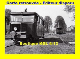 BVA 614-10 - Autorail Billard N° 2 En Gare - GUISCARD - Oise - VFIL - Guiscard