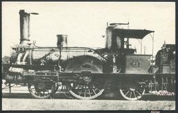 Locomotives De L'Orléans N° 495 - Machine N° 33 (type 111) - Edit. H. M. P. - Voir 2 Scans - Trains
