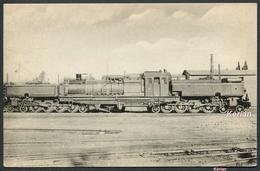 Locomotives De L'Algérie (P.L.M.) - Locomotive Articulée Système Ganatt Type 2D1-1D2 - N° 616 - H.M.P. - Voir 2 Scans - Trains