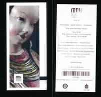 R25- Ticket D'entrée -MNK-Muzeum  Narodowe  W Krakowie-Pologne 2018 - Tickets D'entrée