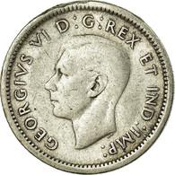 Monnaie, Canada, George VI, 10 Cents, 1943, Royal Canadian Mint, Ottawa, B - Canada