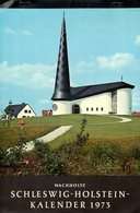 Suisse : Schleswig Holstein Calendrier 1973 - Grand Format : 1971-80