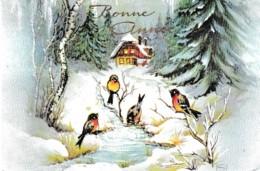 """MIGNONNETTE """"BONNE ANNEE """",DECOR DE NEIGE,OISEAUX REF 64101 - New Year"""