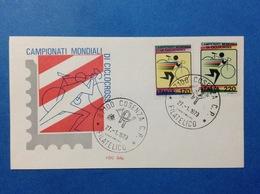 1979 ITALIA SPORT CAMPIONATI MONDIALI DI CICLOCROSS Busta Primo Giorno Fdc SILIG First Day Cover - 6. 1946-.. Republic