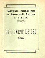 Basket Ball : Règlement De Jeu Par FIBA (1942) - Books