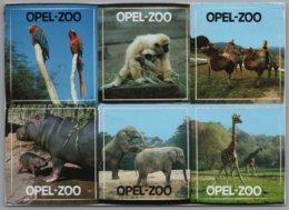 Kronberg Im Taunus - Opel Zoo   Mehrbildkarte Mit 6 Aufkleber / Sticker - Kronberg