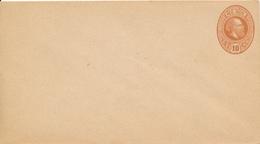 NIEDERLÄNDISCH-INDIEN / NEDERLANDSCH-INDIE / INDONESIE   -  Wilhelm III.  -  10 CENT  -  Entier Postal - Niederländisch-Indien