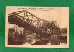 76 Gonfreville L'Orcher. Hameau De Mayville. Le Pont Du Canal CPA  1939    EDIT 76 Gonfreville L'Orcher. HaTAMPON  C O R - Harfleur