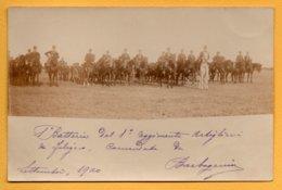 Foto Originale Militare 1900 - MIL 223 - Guerra, Militari