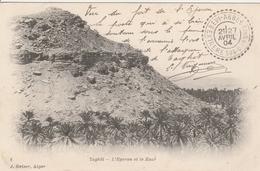 France Algérie Cachet Beni Abbes Extrême Sud Oranais Sur Carte Postale Pour Besançon 1904 - 1877-1920: Semi-Moderne