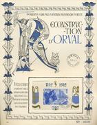 BF 18/21  Reconstruction De L'Abbaye D'ORVAL    Cote 80 Euros Comme Ø - Bélgica