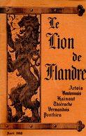 Le Lion De Flandre (avril 1942) - Picardie - Nord-Pas-de-Calais