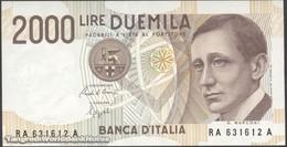 TWN - ITALY 115a1 (A.743) - 2000 2.000 LIRE 24.10.1990 RA XXXXXX A - Signatures: Ciampi & Speziali UNC - 2000 Lire