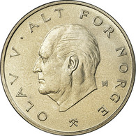 Monnaie, Norvège, Olav V, Krone, 1974, SPL, Copper-nickel, KM:419 - Norvège