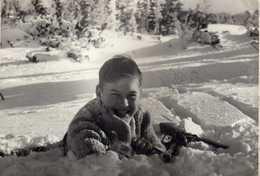 Photo Postcard - Boy,Wien 1955 - Personnes Anonymes