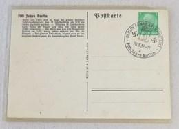 Cartolina Postale 700 Jahre Berlin - 20/08/1937 - Germania