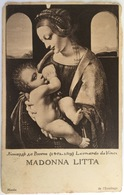 V 72276 - Madonna Litta - Leonardo Da Vinci - Paintings