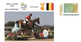 Spain 2016 - Olympic Games Rio 2016 - Gold Medal Hipica Male Belgium Cover - Juegos Olímpicos