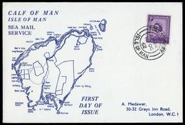 1962, Insel Man, 1 X U.a., Brief - Man (Ile De)