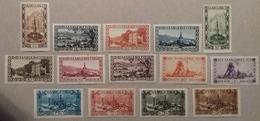 Sarre Série De 1927, Numéro 107 à 120 (Y & T), Timbres Neufs *. Cote 55 Euros, Trace De Charnière . - 1920-35 Société Des Nations