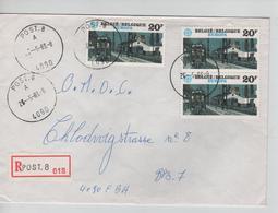 REF513/ TP 2093(3) Europa S/L.Recommandée C.Post.8 26/5/83 > BPS 7 4090 FBA - Covers & Documents