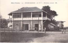 COTE D'IVOIRE ( Ex AOF ) GRAND BASSAN : Habitation Cloniale - CPA - Afrique Noire / Black Africa - Côte-d'Ivoire