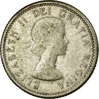 Monnaie, Canada, Elizabeth II, 10 Cents, 1959, Royal Canadian Mint, Ottawa, TB - Canada