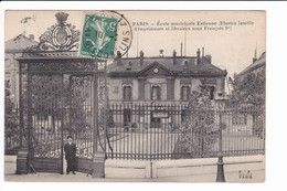 PARIS - Ecole Municipale Estienne - Enseignement, Ecoles Et Universités
