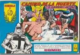 España. Revista De Comicos. Homenaje A Manuel Gago. El Guerrero Del Antifaz. Camino De La Muerte. N° 34. - Libri, Riviste, Fumetti