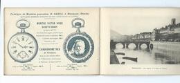 BESANÇON - Souvenir Du Centenaire VICTOR HUGO 1902 - Extraits Des Catalogues Montres SARDA - - Documenti Storici