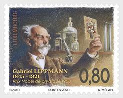Luxembourg 2020 - 175th Birthday Of Gabriel Lippmann Mnh - Prima Guerra Mondiale