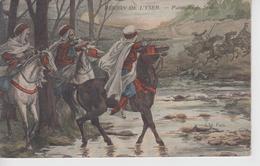 CPA Région De L'Yser - Patrouille De Spahis - Guerre 1914-18