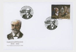 Luxembourg 2020 - 175th Birthday Of Gabriel Lippmann FDC - Nuovi