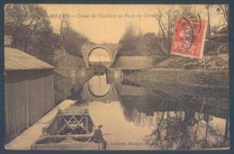 77 MEAUX Canal De Chalifert Et Pont De Cornillon - Meaux