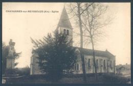 01 CHAVANNES Sur REYSSOUZE Eglise - Non Classés