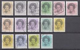 Pays-Bas 1982  Mi.nr. 1197+1200A+1200C+1201+1202A+1202C+1211A+1212A+1212C+1213A+1214A+1217 Oblitérés / Used / Gestempeld - Gebraucht