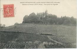 Saint-Etienne-de-Lisse-Saint-Emilion (33) - Château De Pressac (XVIè Siècle) - Vue Prise Du Vignoble - France