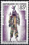 Congo (Braz) 1965 - Mi 66 - YT 166 ( Stilt Dancer ) MNH** - Ongebruikt